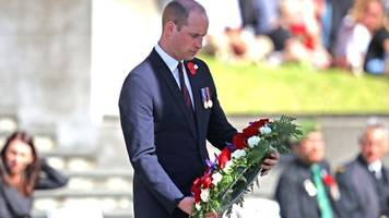 Christchurch attack: Prince William to meet survivors