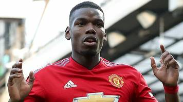 Pogba only man not from Man City or Liverpool in PFA Team of the Year