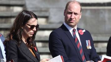 william in new zealand 'bringing comfort' after mosque attacks