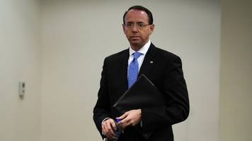 rosenstein's first comments after mueller report are full of criticism