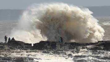 storm hannah: gusts make wales 'windiest place in the uk'
