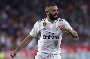 benzema out of real madrid's trip to rayo vallecano