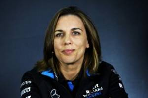 boss says williams 'not for sale'