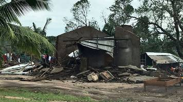 cyclone kenneth: rescuers struggle to reach storm-hit villages