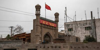 before-and-after photos show how china is destroying historical sites to monitor and intimidate its muslim minority