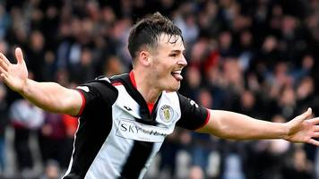 watch: st mirren's danny mullen scores with a spectacular finish against st johnstone