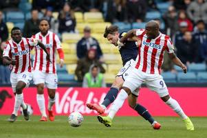 stoke city boss sympathises with goal-less striker after millwall blank
