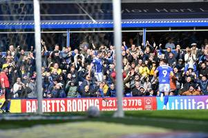 'that sick feeling has finally gone' how birmingham city lapped up the final home game of the season