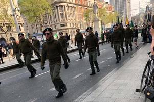 hardline irish republican group linked to new ira in glasgow today for easter rising rally