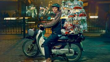 hanoi: a city of motorbikes and mopeds