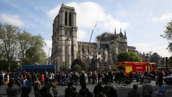 paris police warn of lead exposure following notre dame fire