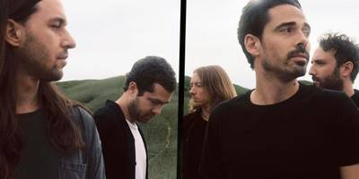 this swirling kind of cacophony - clash meets local natives
