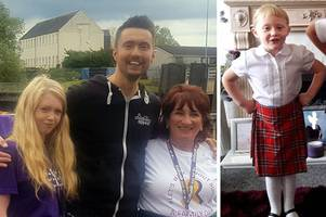 alesha macphail's mum puts on brave face to tackle kiltwalk in memory of murdered daughter