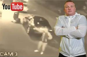 trainspotting star bradley welsh hoaxers post cctv video on youtube claiming to show shooting