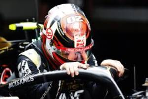 magnussen: haas 'just not fast enough'
