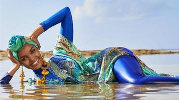 sports illustrated features first burkini cover girl