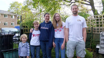 the dorset family who are living plastic-free