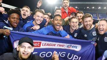 tranmere rovers 1-1 bury: shakers promoted after draw