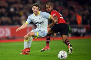 has injured craig bryson played his last game for derby county? here's what frank lampard said