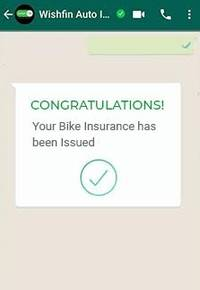 """wishfin forays into insurance by launching a new product: """"buy two-wheeler insurance on whatsapp"""""""