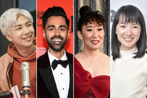 bts, sandra oh, hasan minhaj among a100 list of most influential asians in american culture