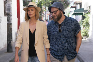 'long shot' film review: charlize theron and seth rogen make a charming, unlikely couple