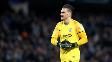 man city star ederson denies supporting tommy robinson