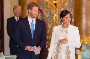 speculation meghan markle and prince harry's royal baby has arrived as chris evans drops hint
