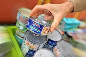 staggering rise in people relying on foodbanks across north devon