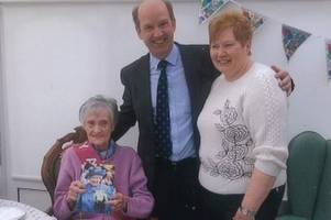 agnes is amazing at 105