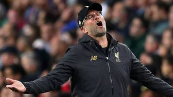 i don't know if we can play much better - klopp on liverpool's 3-0 defeat