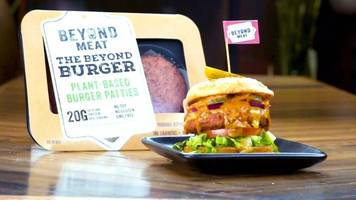 vegan food firm beyond meat valued at $3bn after shares rise