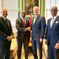 massachusetts governor, city hall and business leaders welcome bermuda delegation to boston