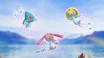 uxie, mesprit, and azelf join pokémon go raids for may