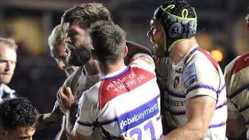 premiership: harlequins 23-19 leicester
