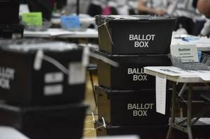stoke-on-trent city council elections 2019: 36 photographs from a dramatic night