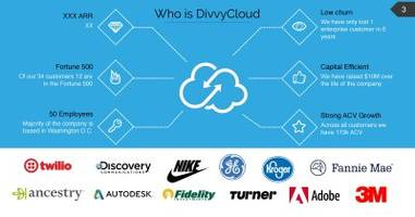 here's the pitch deck virginia's divvycloud just used to raise $19 million in vc funding