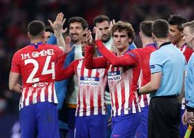 atletico loses, misses chance to clinch 2nd-place in la liga
