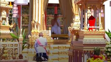 King Vajiralongkorn crowned in Thailand coronation ceremony