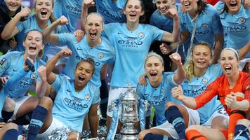 man city beat west ham to win women's fa cup