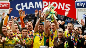 aston villa 1-2 norwich city: canaries win to seal championship title