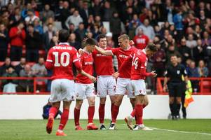 joe lolley ensures nottingham forest finish season with a flourish against bolton wanderers