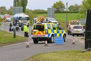 live a131 braintree updates as serious crash closes road