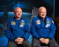 nasa enlists twins to reveal space travel secrets