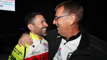 francis benali: ex-southampton defender completes five ironmans in a week