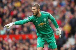 premier league gossip: man united line-up david de gea replacement and lose out on winger to napoli