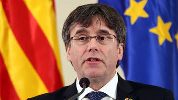 Catalan ex-leader Puigdemont can run in EU elections - court