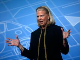 ibm ceo ginni rometty said red hat will remain independent because 'i don't have a death wish for $34 billion' (ibm, rhat)