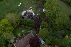 two people dead after multiple explosions at countryside bungalow