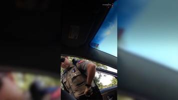 sandra bland: her phone video of arrest emerges